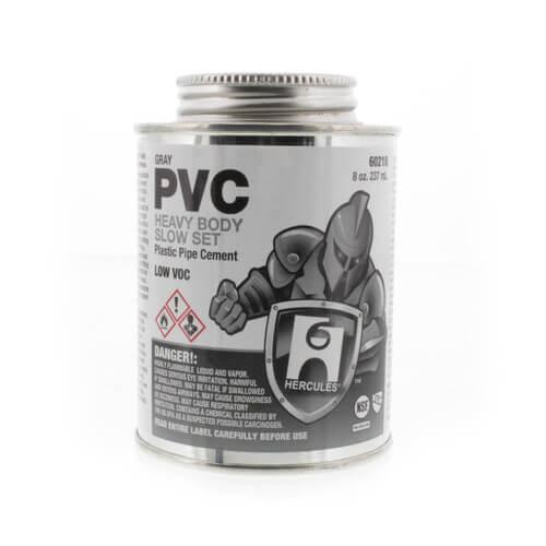 8 oz. Heavy Body, Slow Set PVC Cement (Gray) Product Image