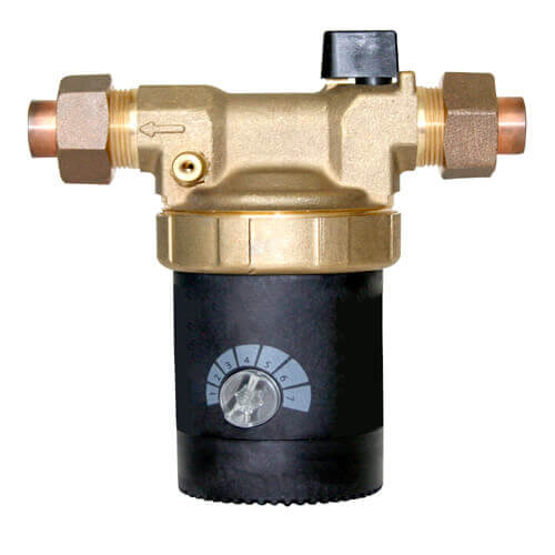 "E3-BCUVNN1W-11, E Series Circulating Pump w/ Adjustable Speed and Plug (1/2"" Sweat Union) Product Image"