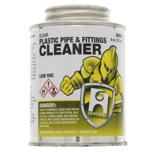 8 oz. Plastic Pipe and Fittings Cleaner (Clear) Product Image