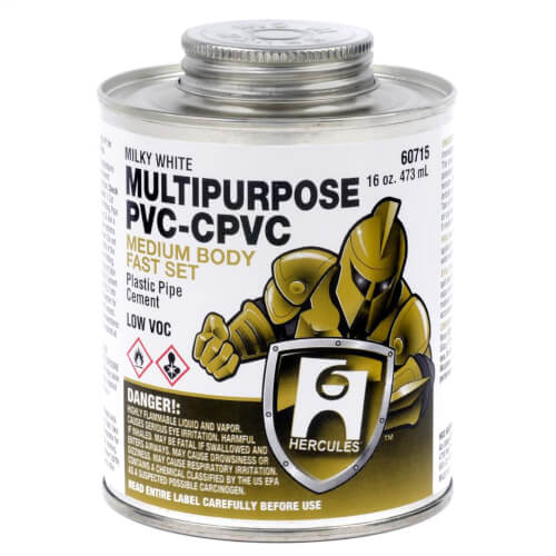 16 oz. Medium Body, Fast Set Multi-Purpose Cement (Milky) Product Image