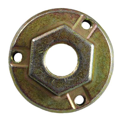 """Hex and Round Hub with 3/8"""" Bore Product Image"""