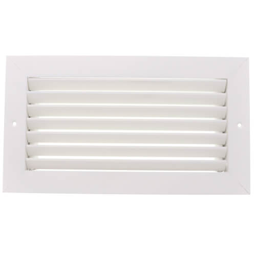 """12"""" x 6"""" (Wall Opening Size) Extruded Aluminum Return Grille (RH45 Series) Product Image"""