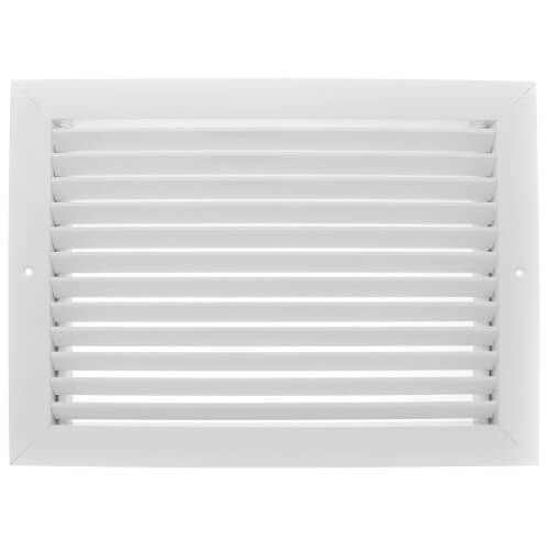 "14"" x 10"" (Wall Opening Size) Extruded Aluminum Return Grille (RH45 Series) Product Image"