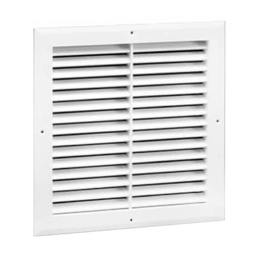 """14"""" x 14"""" (Wall Opening Size) Extruded Aluminum Return Grille (RH45 Series) Product Image"""