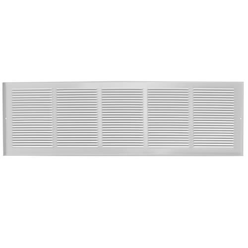 "24"" x 8"" (Wall Opening Size) Extruded Aluminum Return Grille (RH45 Series) Product Image"