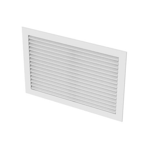 """30"""" x 12"""" (Wall Opening Size) Extruded Aluminum Return Grille (RH45 Series) Product Image"""