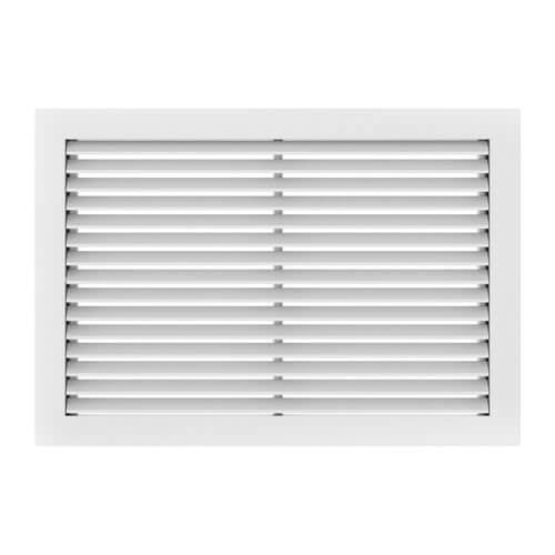 """20"""" x 12"""" (Wall Opening Size) Fixed Blade Aluminum Filter Grille (RHF45LF Series) Product Image"""