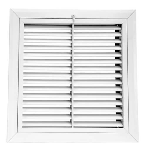"24"" x 24"" (Wall Opening Size) Extruded Aluminum Filter Grille (RHF45 Series) Product Image"