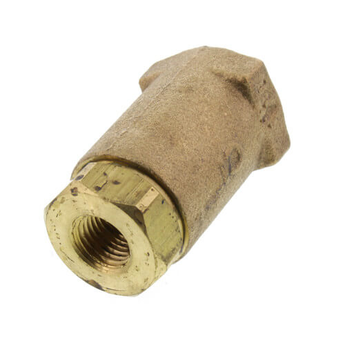 "1/4"" Threaded Bronze Spring Check Valve Product Image"