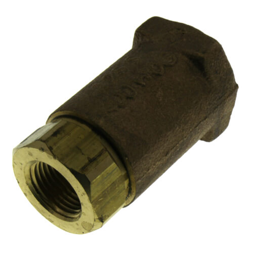 "3/8"" Threaded Bronze Spring Check Valve Product Image"