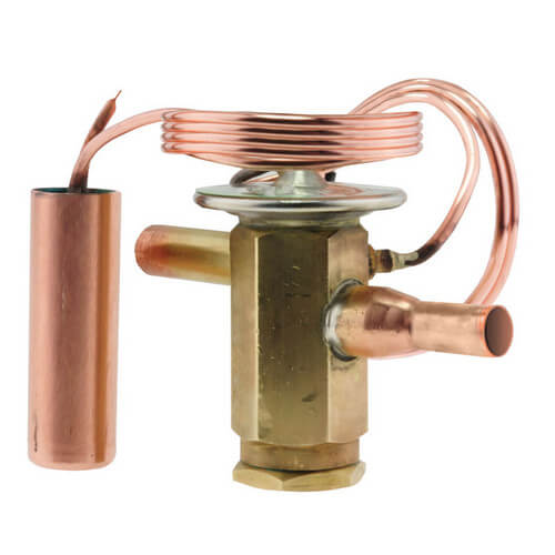 "3/8"" 3 Ton Thermal Expansion Valve with Bleed Port Product Image"