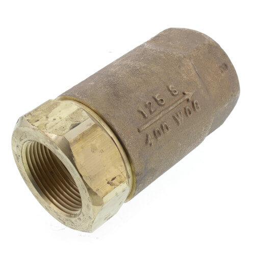 "1-1/4"" Threaded Bronze Spring Check Valve Product Image"