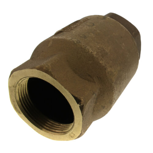 "2-1/2"" Threaded Bronze Spring Check Valve Product Image"