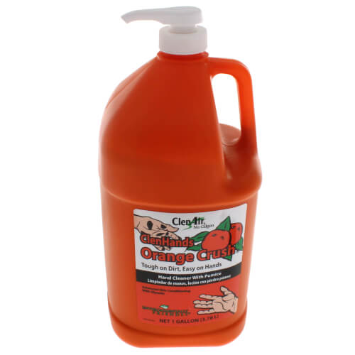ClenHands Orange Crush with Pumice 1 Gallon Product Image