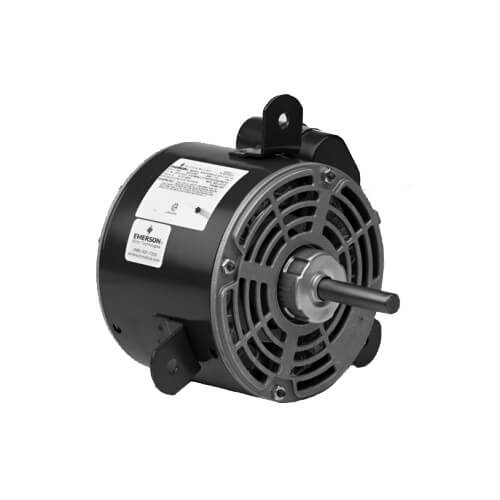 "5.6"" ODP PSC Copeland Condenser Fan Motor, 48Y (208-230V, 1/6 HP, 1550 RPM) Product Image"