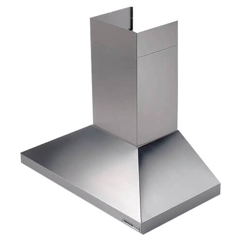 """30"""" Stainless Steel Wall Mount Chimney Hood w/ Internal Blower (450 CFM) Product Image"""