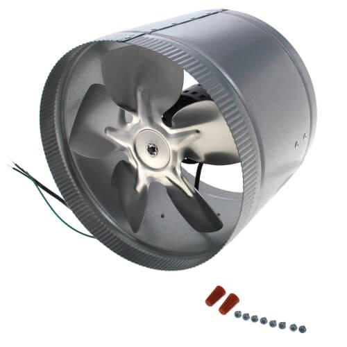 "10"" Dia. Duct Fan (650 CFM, 60W) Product Image"