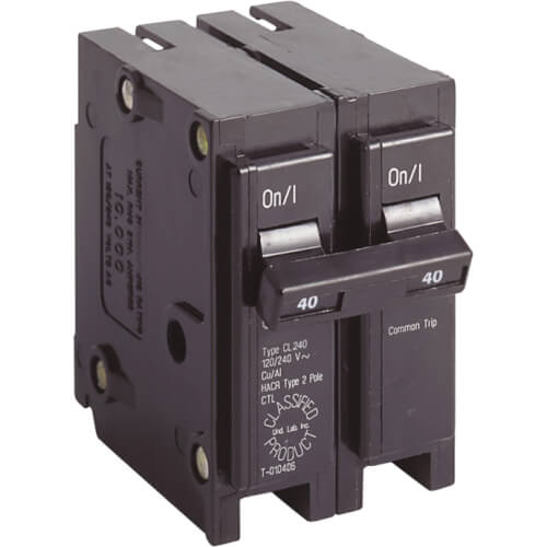 2P UL Classified Universal Circuit Breaker (40A, 120/240V) Product Image