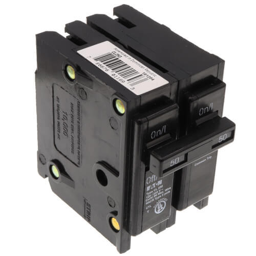 2P UL Classified Universal Circuit Breaker (50A, 120/240V) Product Image