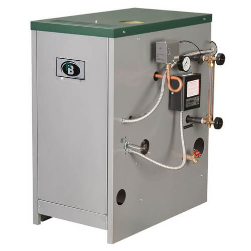 63-04 - 110,000 BTU Output Spark Ignition Packaged Residential Steam Boiler (Nat Gas) Product Image