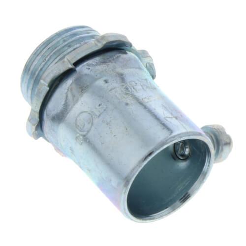 "1-1/4"" Steel EMT Set Screw Connector Product Image"