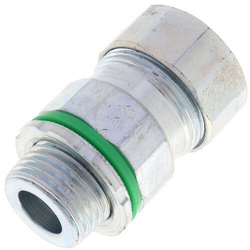 "1/2"" Liquid-tight Concrete Tight MC Cable Connector Product Image"