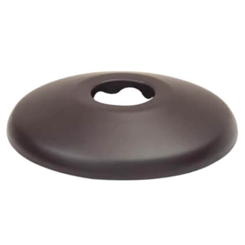 """3/8"""" IPS Shallow Escutcheon in Oil Rubbed Bronze Product Image"""