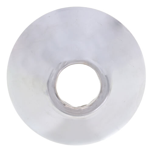 "3/8"" IPS Chrome Bell Escutcheon (11/16"" O.D.) Product Image"