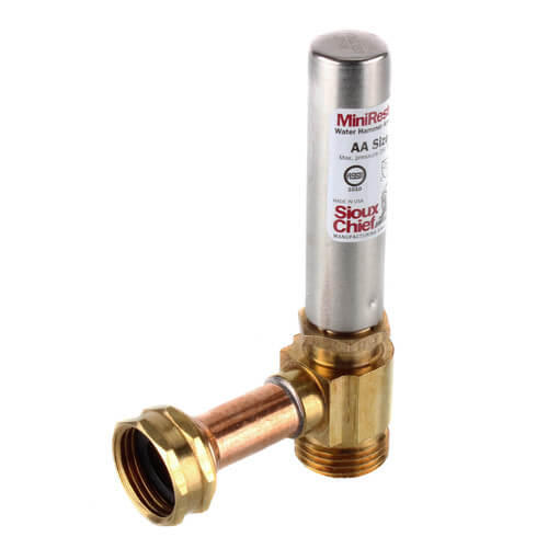 660 H Sioux Chief 660 H Mini Rester Water Hammer