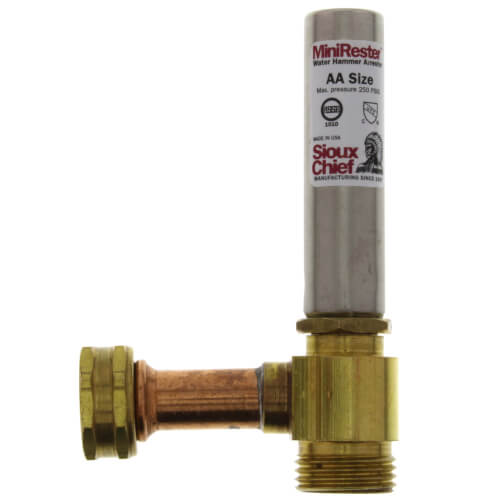 Mini-Rester Water Hammer Arrestor - 3/4
