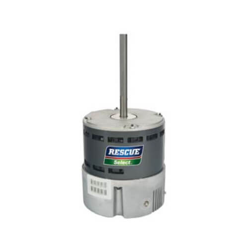 1-Phase RESCUE Select Truck Stock ECM Blower Motor 48Y (208-230V, 1 HP, 1050 RPM) Product Image