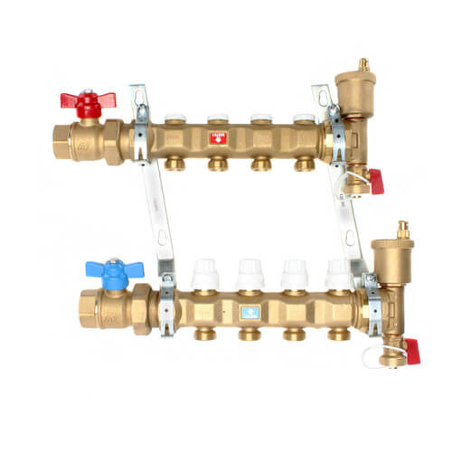 "1"" Manifold w/ Shut-Off Valves (4 Outlets) Product Image"