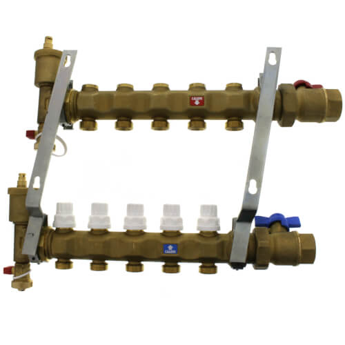 """1"""" Manifold w/ Shut-Off Valves (5 Outlets) Product Image"""