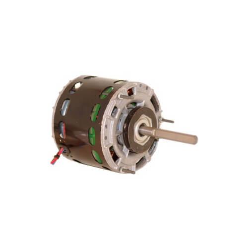"""5"""" 3-Speed Single Shaft Open Fan/Blower Motor (208-230V, 1050 RPM, 1/5, 1/6, 1/8 HP) Product Image"""