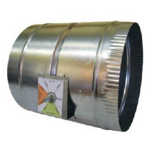 "12"" RD Auto By-Pass Damper Product Image"