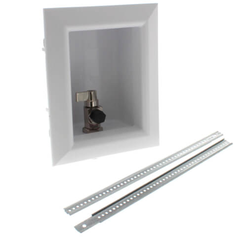 """Ox Box Ice Maker Outlet Box Standard Pack - 1/2"""" PEX Crimp (Lead Free) Product Image"""