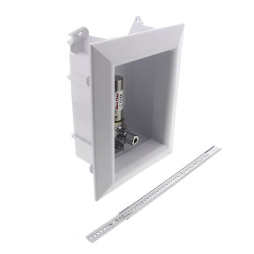 """Ox Box Ice Maker Outlet Box w/ Water Hammer Arrestor - 1/2"""" Female Sweat (Lead Free) Product Image"""