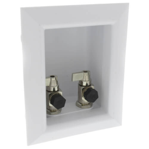 "Ox Box Lavatory Outlet Box Standard Pack - 1/2"" PEX Crimp Connection (Lead Free) Product Image"
