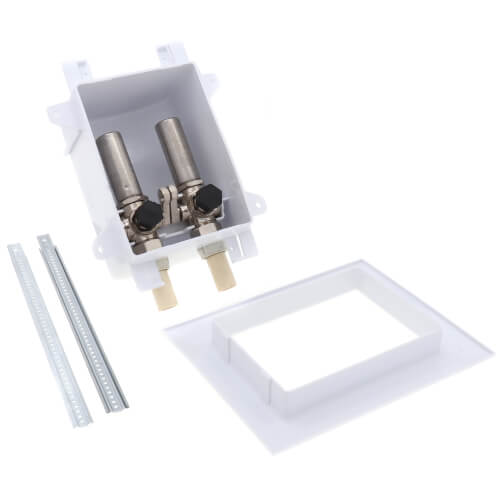 """Ox Box Lavatory Outlet Box w/ Mini-Rester Water Hammer Arrester - 1/2"""" Male CPVC (Lead Free) Product Image"""