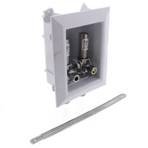 """Ox Box Lavatory Outlet Box w/ Mini-Rester Water Hammer Arrester - 1/2"""" Female Sweat Connection (Lead Free) Product Image"""