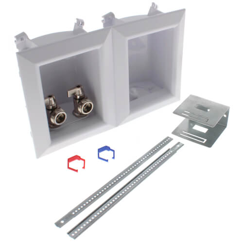 """Ox Box Washing Machine Outlet Box Standard Pack - 1/2"""" Female Sweat/1/2"""" MIP (Lead Free) Product Image"""