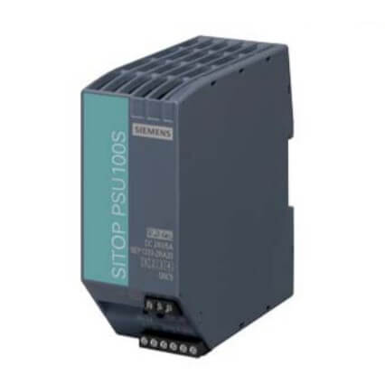 SITOP PSU100S Stabilized Power Supply (Input 120/230 VAC, Output: 24VDC/5A) Product Image