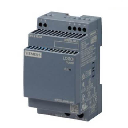 LOGO!POWER Stabilized Power Supply (Input: 100/240 VAC, Output: 24VDC/2.5A) Product Image