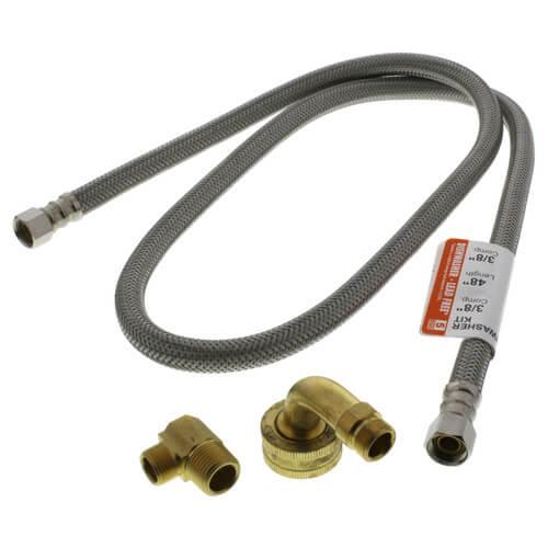 "FLUIDMASTER 48/"" DISHWASHER CONNECTOR 3//8/"" Female compression thread"