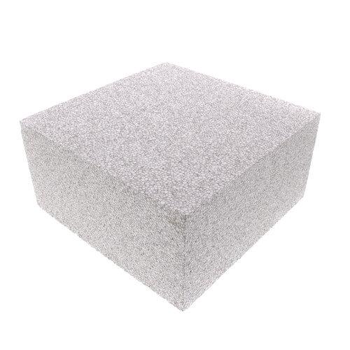 "EPS Air Handler Foam Block 8"" x 8"" x 4"" (White) Product Image"