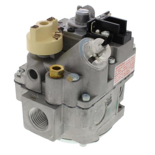 "1/2"" X 3/4"" Combo Gas Valve, 1/2"" Side w/ Plugs (240,000) Product Image"