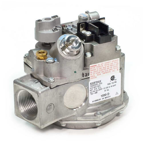 """120v 3/4"""" X 3/4"""" Gas Valve w/ Thermopile Magnet Product Image"""