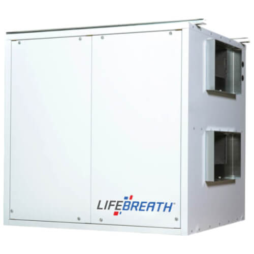 700 DD Commercial Heat Recovery Ventilator, Damper Defrost, 690 CFM Product Image