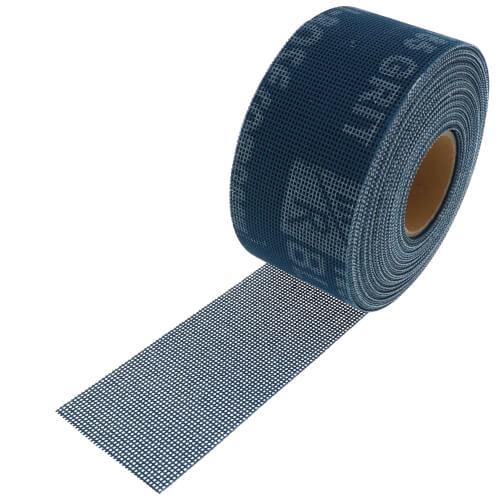 "Blue Monster 2"" x 10 yds. Aluminum Oxide Open Mesh Abrasive Product Image"