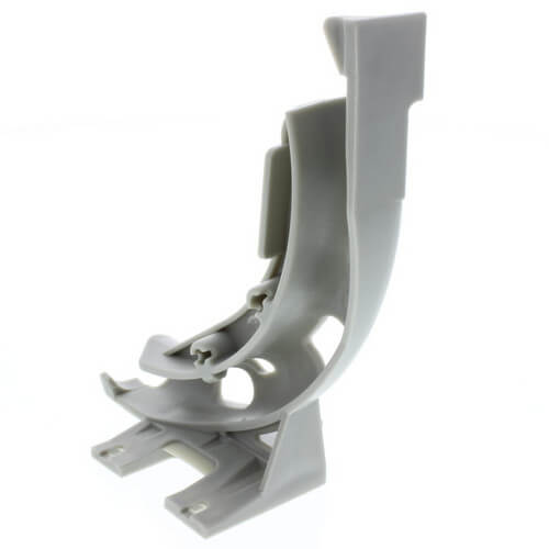 """3/8"""" to 1/2"""" Plastic PEX Bend Support for wood mount Product Image"""